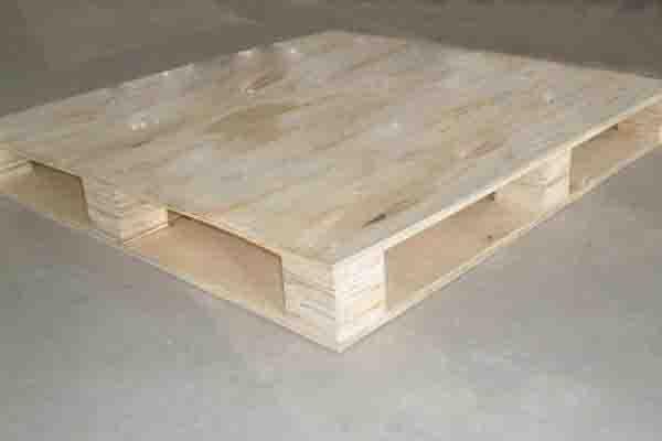仓库物流木托盘出口 免熏蒸仓储叉车木栈板定制 四面进叉实木卡板