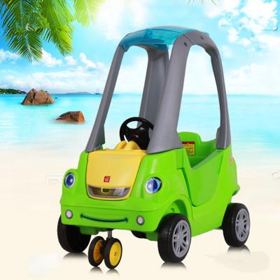 厂家直销儿童房车1-3岁 游乐场玩具婴儿推车学步滑行音乐一件代发