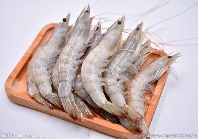 厄瓜多尔白虾南美地区白对虾50-60欧玛莎(水冻)