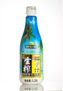 厂家直销原汁鲜现货批发椰汁椰子水大瓶生榨椰子汁1.25l 整箱饮料