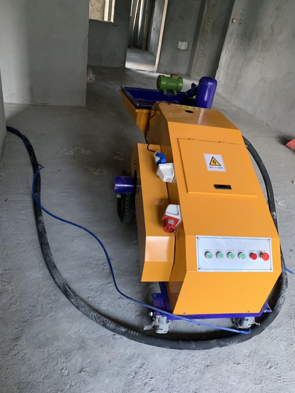 新型双缸柱塞式砂浆喷涂机来中煤 新型双缸砂浆喷涂机实用更方便