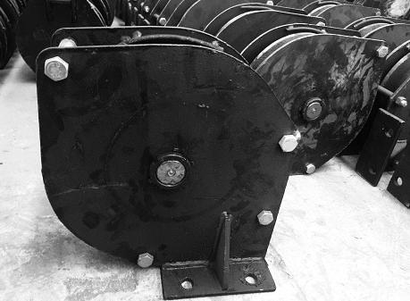耙斗机尾轮  P-30B耙斗机导向轮