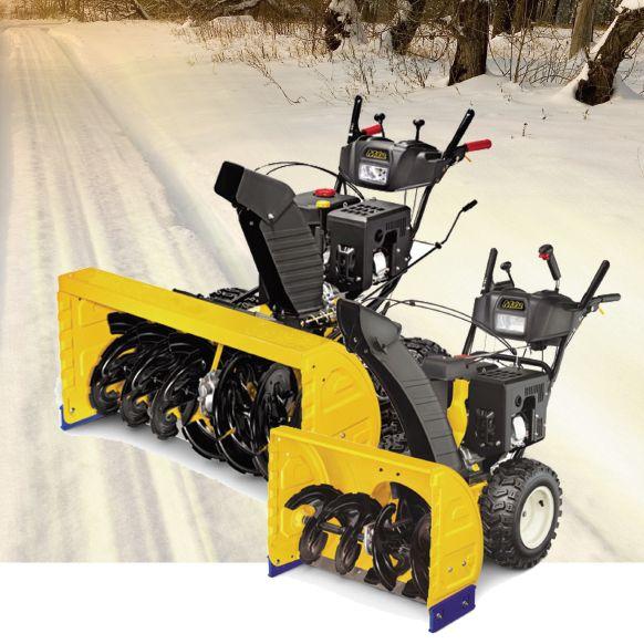扫雪机视频山东小型手扶扫雪机 山东扫雪机