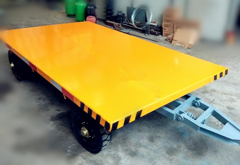 行李牵引平板拖车,物流车,机场车,港口车、车站专用,平板车