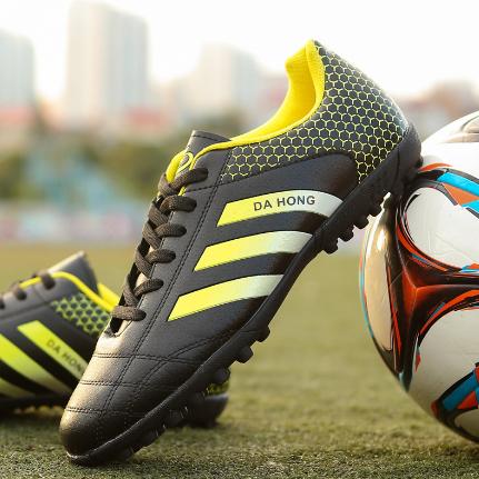 特价足球鞋TF平底碎钉水泥地室内训练鞋人造草地学生运动足球鞋