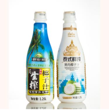 椰汁生榨大瓶椰子汁饮料批发鲜榨整箱果蔬汁广东食品饮料代理加盟