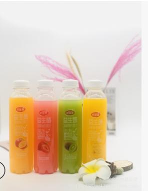 500ML整箱益生菌发酵复合芒果汁果汁饮料5种口味瓶装饮料一件代发