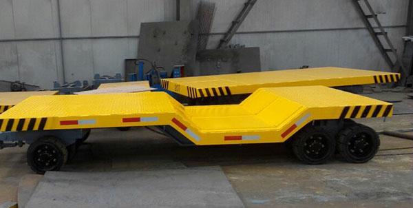 牵引式平板拖车 货物托盘平板车 运输平板车牵引式平板拖车