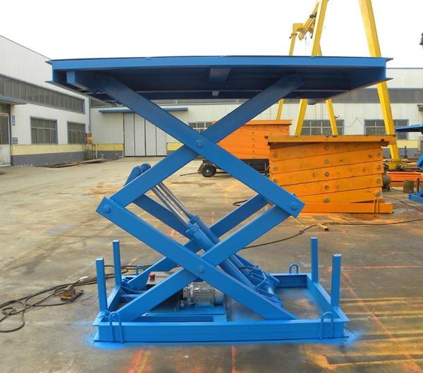 直供固定式剪叉升降平台 碳钢材质 小型电动升降平台液压升降机