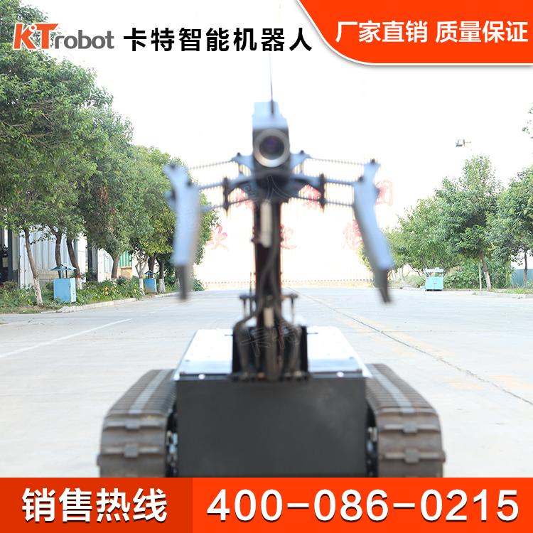 防爆机器人特点 智能排爆机器人
