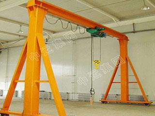 小型移动式龙门架起重机厂家现货 支持定制1吨小型龙门架起重机