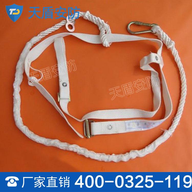 单背安全带 长期供应 二防绳优点