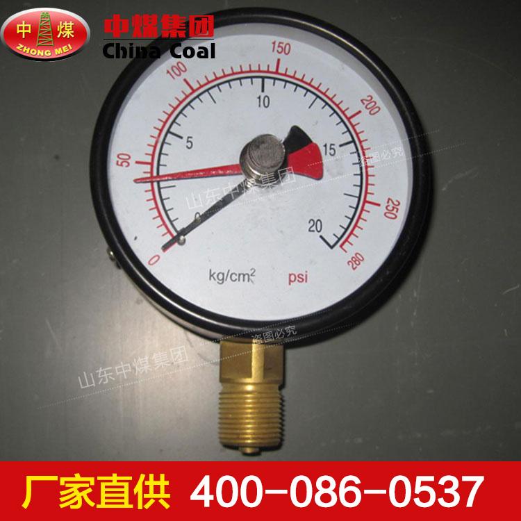 双针耐震压力表结构说明,双针耐震压力表功能特征