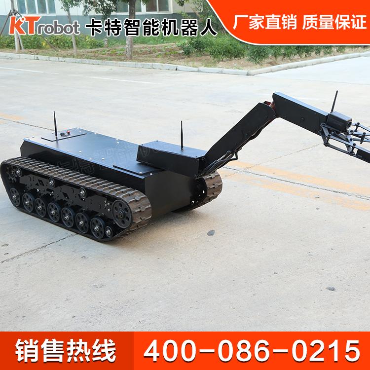 履带机器人技术优势 巡检履带机器人