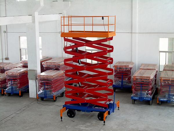 升降机电动小型液压升降机升降平台剪叉移动式升降机高空作业设备