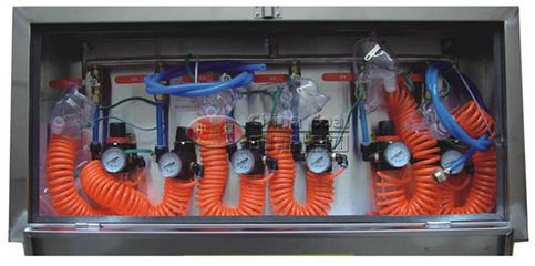 山西箱式压风供水自救装置