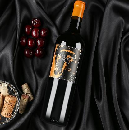 智利原装原瓶进口红酒疯马系列限量珍藏利马里谷F3西拉干红葡萄酒