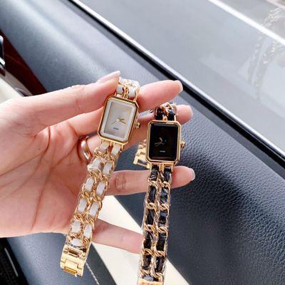 新款创意小方手表女 个性简约时尚腕表