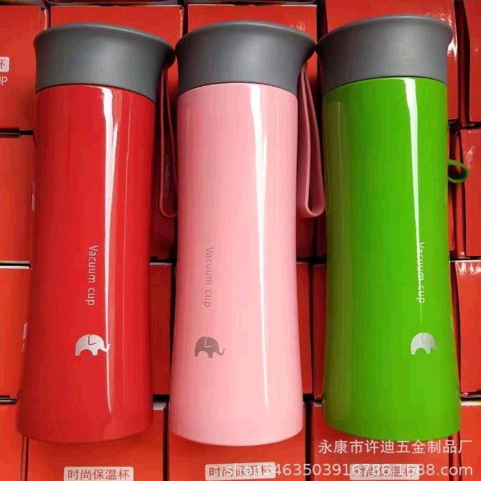 创意不锈钢保温杯双层广告车载水杯便携开业活动定制logo礼品杯子