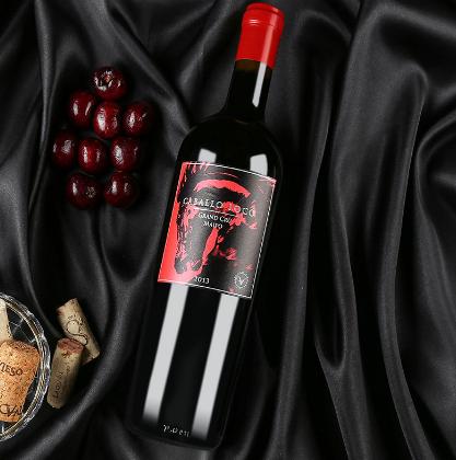 智利原瓶原装进口红酒批发代理限量珍藏F2品丽珠赤霞珠干红葡萄酒