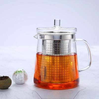 不锈钢茶漏泡茶壶 高硼硅玻璃茶壶