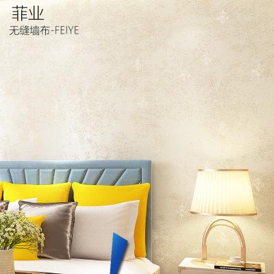 无缝墙布壁布现代简约 小欧式暗纹卧室客厅墙布