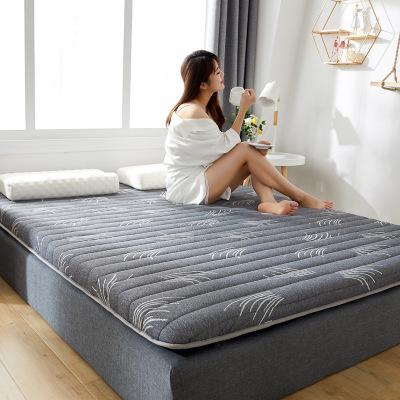 加厚乳胶针织棉床垫单双人榻榻米 保暖学生宿舍床软垫地铺棉褥子