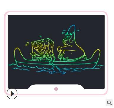 15寸液晶手写板高亮粗笔迹 lcd光能电子智能黑板儿童手绘画板数位
