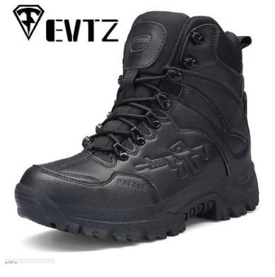厂家货源男军靴战术靴户外登山鞋防滑作战靴作训靴一件代发