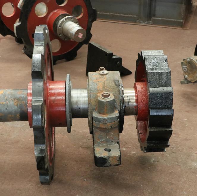 链轮总成 矿用NE15板链提升机链轮总成机械配件链轮 输送链轮总成