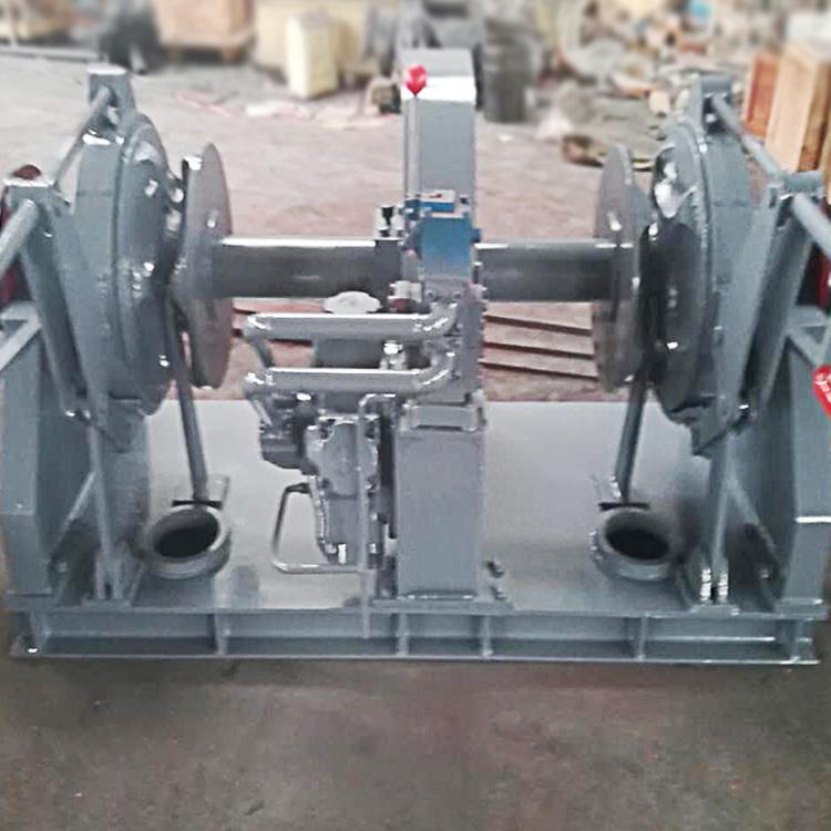 双链电动液压锚机,双链电动液压锚机组成结构