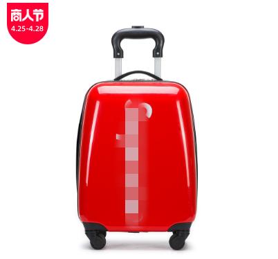 新款18寸拉链SUP拉杆箱可爱行李登机箱万向轮儿童密码拉杆箱