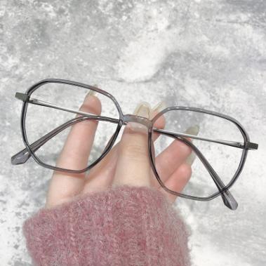 TR90近视眼镜框男女网红同款大框眼镜架瘦脸光学眼镜架复古韩版潮