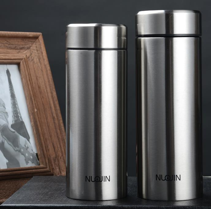 现货批发直杯不锈钢保温杯广告真空水杯商务赠礼活动礼品杯子定制