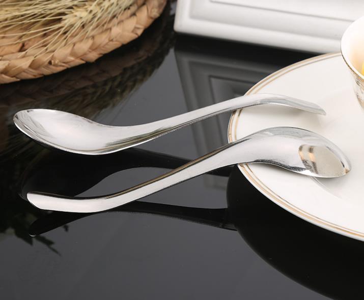 创意指南针勺子 家居酒店不锈钢餐具汤勺批发
