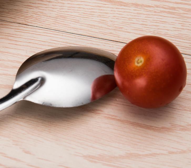 西瓜勺 创意勺儿童搅拌勺 小号玫瑰尖匙可定制