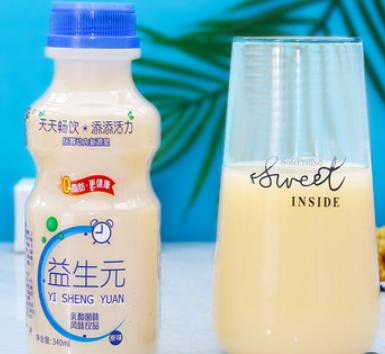 厂家直供益生元乳酸菌饮品整箱包邮340ml*12瓶早餐酸奶益生菌饮料
