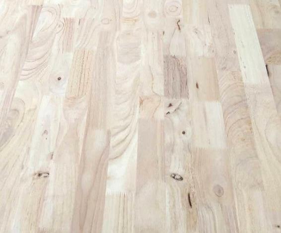 泰国橡胶木指接板25mm 木质材料可定制 家具板实木板
