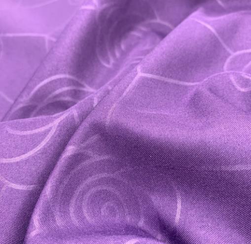 染色印花布压花轧条压泡全涤桃皮绒被芯枕芯床上用品面料