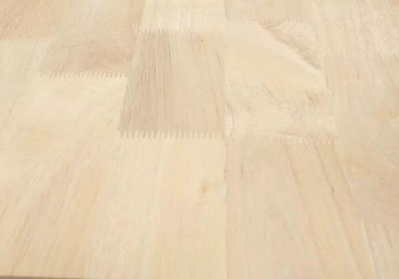 泰国橡胶木指接板AB20mm 木指接板 实木家具板