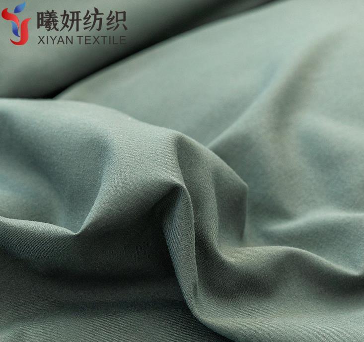 全涤磨毛染色布桃皮绒 床单面料 家纺床品布