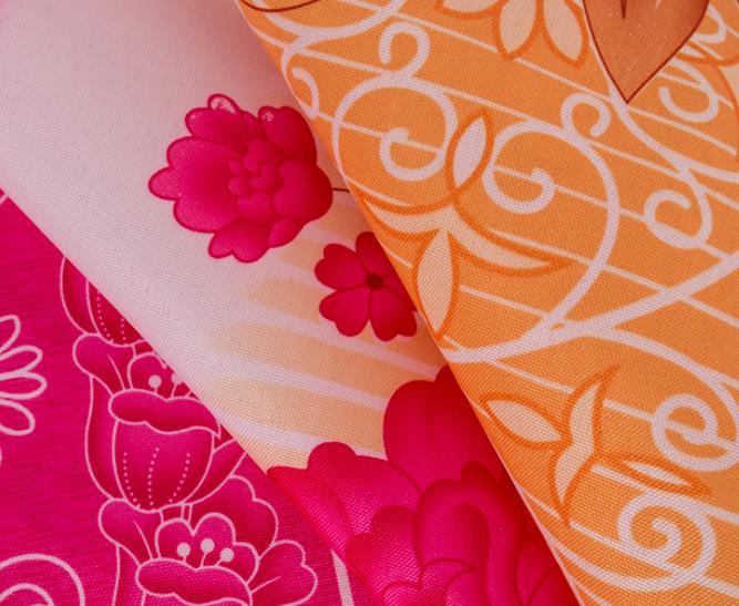 2.1米欧式玫瑰印花遮光窗帘布现货供应 来样定制 居家窗帘面料