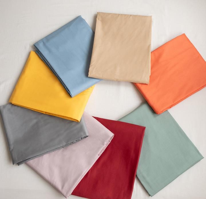 厂家床品斜纹纯色简约被单学生宿舍一件代发