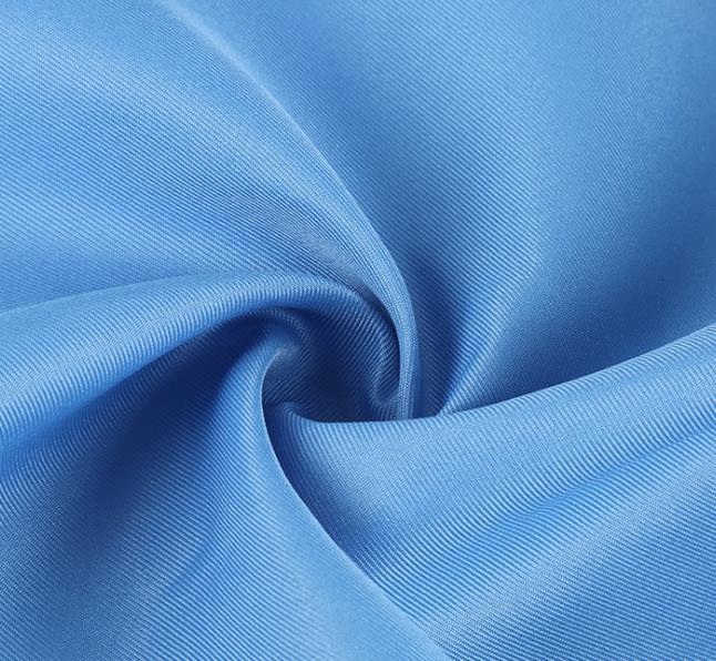 双面斜纹制服呢涤纶工作服面料 工装呢双面斜纹时尚箱包染色布料