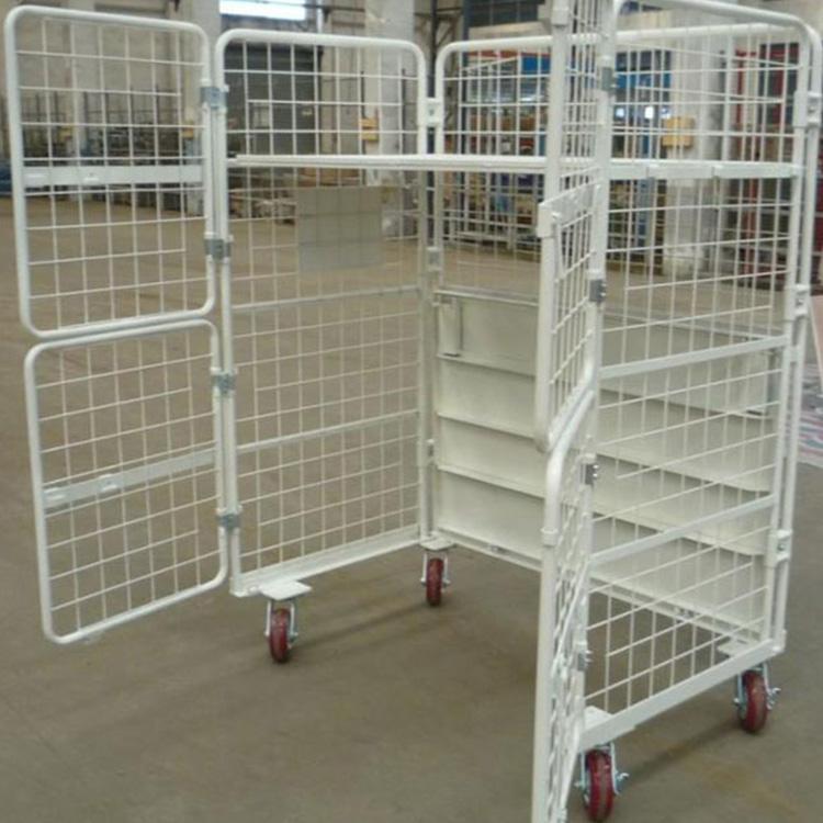 带层板喷塑物流台车,带层板喷塑物流台车性能特点