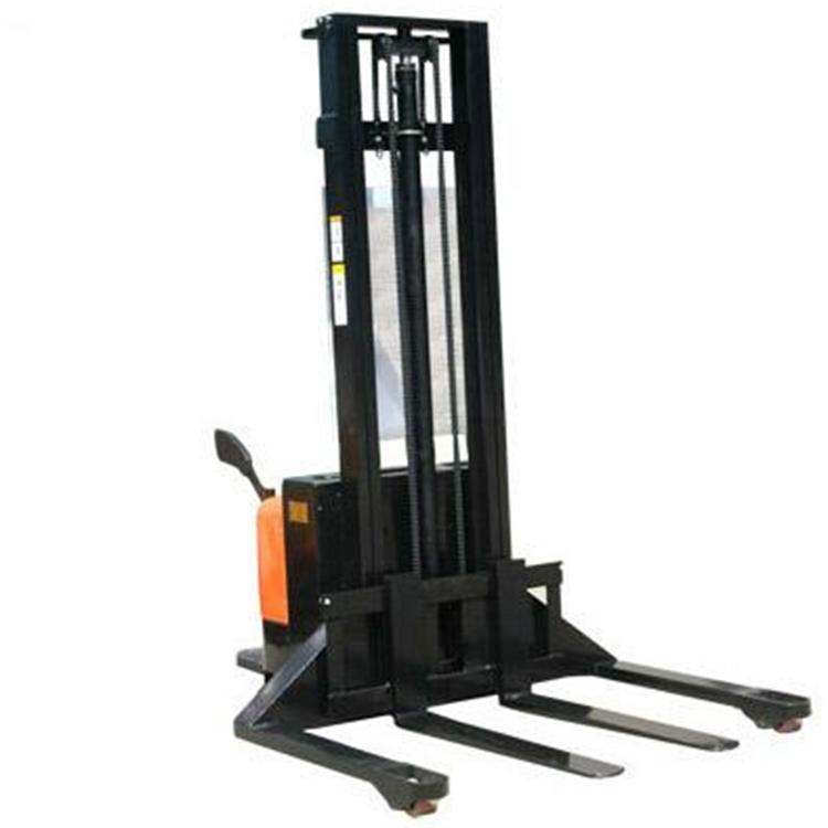 宽支腿半电动堆高车,宽支腿半电动堆高车性能规格